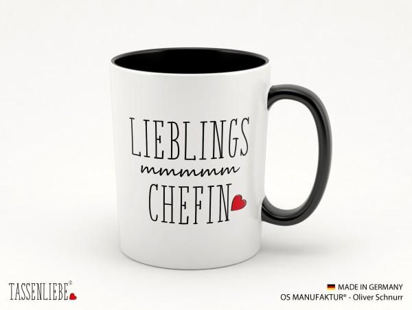 """Tasse """"Lieblings Chefin"""""""