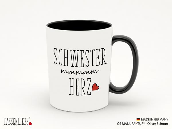 """Tasse """"Schwesterherz"""""""