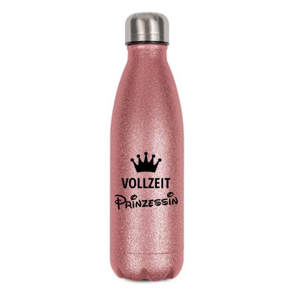 """Glitzerflasche """"Vollzeitprinzessin"""""""