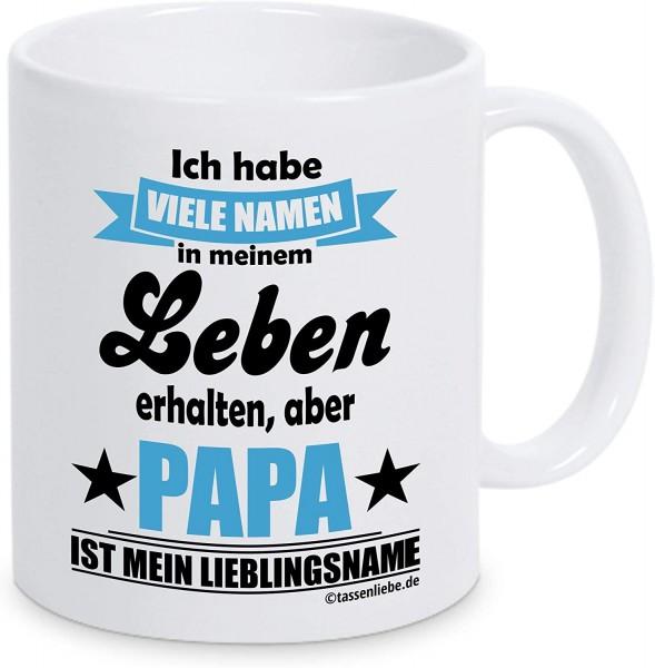 """Tasse mit Spruch """"Papa ist mein Lieblingsname"""""""