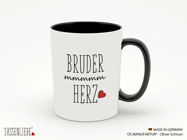 "Tasse ""Bruderherz"""