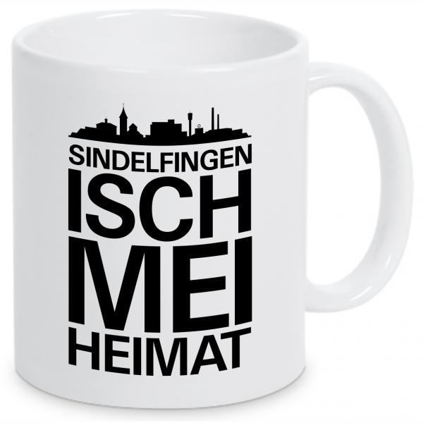 "Tasse ""Sindelfingen isch mei Heimat"""