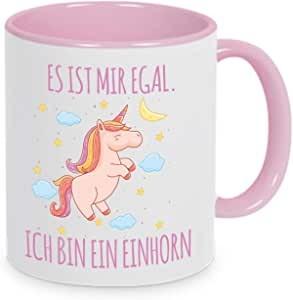 """Tasse mit Spruch """"Ich bin ein Einhorn"""""""